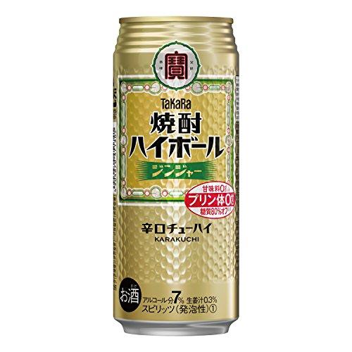 宝 焼酎 ハイボール ジンジャー 500ml