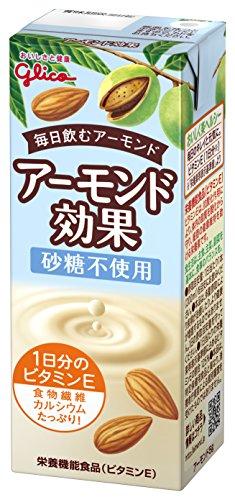 グリコ アーモンド効果 砂糖不使用 200ml×24本