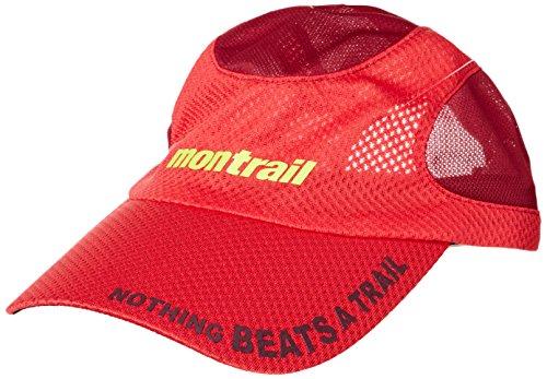 (モントレイル)montrail(モントレイル) ナッシングビーツアトレイルランニングキャップ XU3982 691 ブライトレッド O/S