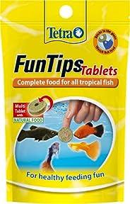 Tetra Fun Tips Tropical Aquarium Adhesive Treats, 20 Count