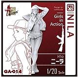 ジルプラ 1/20 ガールズインアクションシリーズ ニーラ レジンキット GA-014