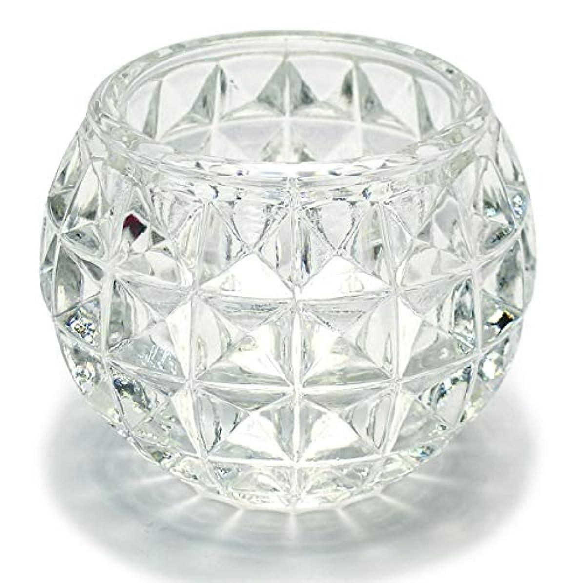 放つ半円フェードアウトキャンドルホルダー ガラス 5 キャンドルスタンド クリスマス ティーキャンドル 誕生日 記念日