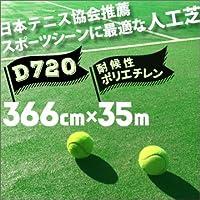人工芝 D-720 366cm幅×35m巻 1本 SG