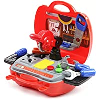 Kidsシミュレーションシミュレーションツールボックスツールボックス玩具、幼児用子供の早期教育パズル玩具ギフト