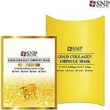 SNP ゴールド コラーゲン アンプル マスク 10枚/GOLD COLLAGEN AMPOULE MASK 10EA[海外直送品]