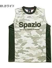 [スパッツィオ] メンズ レディース フットサル ノースリーブシャツ CAMUFFAMENTO NO SLEEVE S ホワイト GE-0363 M