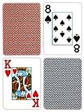 Copag Pokerサイズジャンボインデックストランプブルーレッドエクスポートセットアップ)