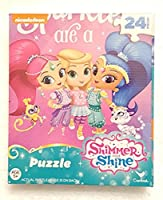 Shimmer and Shine 24 Piece Jigsaw Puzzle Sparkles Are A Girls Best Friend