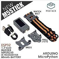 M5Stick ミニ開発キットESP32 1.3'OLEDオプションのブザーIRトランスミッタMpu9250