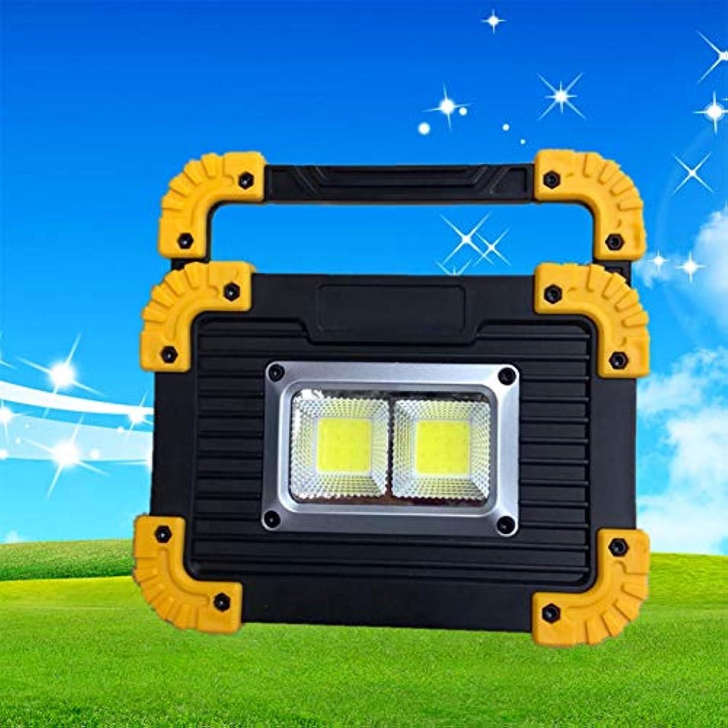 フォルダボルト覚えているACHICOO ナイトライト 20W COB USB充電式 ハンドル付き キャンプ テント 緊急投光器 アウトドア