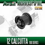 【Avail/アベイル】 シマノ 12カルカッタ100 スプール Microcast Spool 【CC1238R】 ブラック