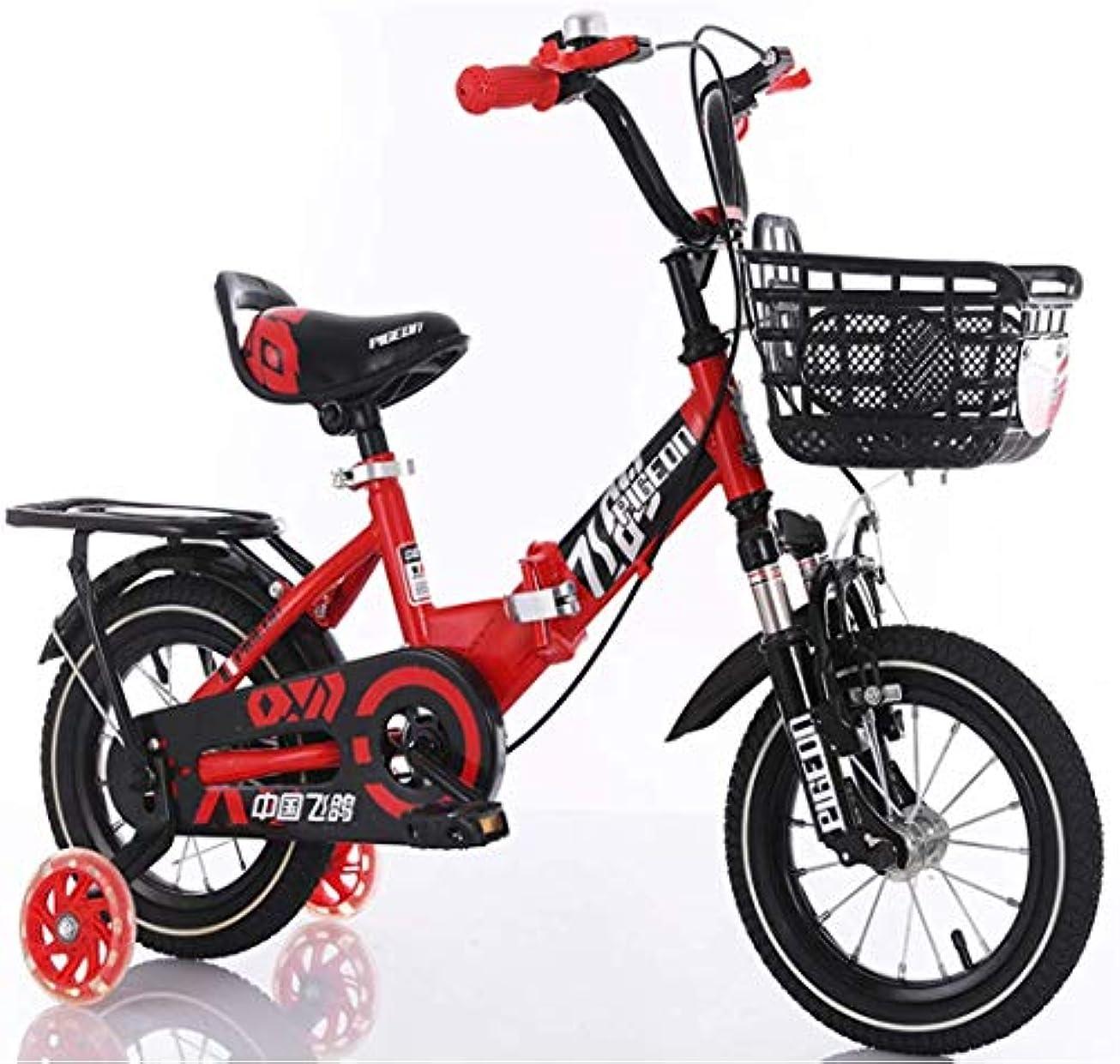 民間シンボル専門知識子供用安全自転車トレーニングホイールと前後のショックアブソーバーを備えた高炭素鋼自転車フレーム自転車