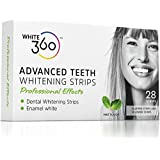Advanced Teeth Whitening Strips - Professional Strength Whitestrips 14 Day Supply by White 360 by White 360