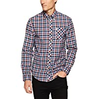 Ben Sherman Men's Long Sleeve Multicoloured Gingham Shirt