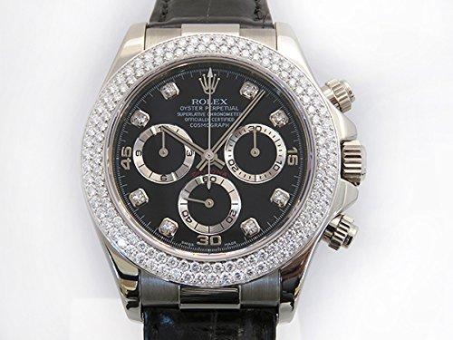 ロレックス ROLEX デイトナ 116589RBR ブラック文字盤 メンズ 腕時計 【中古】