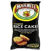 Marmite Rice Cakes (6 per pack - 150g) マーマイトの餅(パックあたり6 - 150グラム)