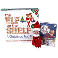 The Elf on the Shelf A Christmas Tradition (Blue-Eyed Girl) with DVD [並行輸入品]