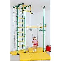 KidsホームジムインドアPlaygroundセットChildrensフィットネスのスイングとその他のアクセサリー – Carousel r33
