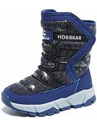 スノーブーツ キッズブーツ 防水冬の子供靴 暖かい アウトドア ブーツ男の子 女の子