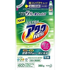 ウルトラアタックNeo 洗濯洗剤 濃縮液体 つめかえ用 360g