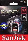 SanDisk サンディスク SDXC カード 128GB Extreme Pro UHS-I 超高速U3 Class10 【 3年保証 】 [並行輸入品]