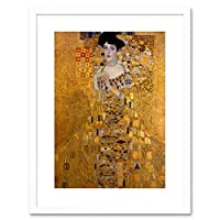 Painting Portrait Klimt Bloch Bauer Secession Framed Wall Art Print