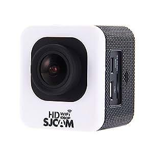 SJCAM M10 Wi-Fi ミニキューブ12MP 1080P アクション スポーツカメラ 1.5インチLCDスクリーン 170度広角レンズ 30m防水 HDビデオカメラ 車 ドライブレコーダー◇M10WIFI (ホワイト)
