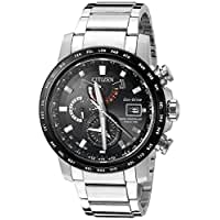 CITIZEN シチズン AT9071-58E World Time A-T Chronograph Perpetual Automatic Men's Watch 男性用 メンズ 腕時計 [並行輸入品]