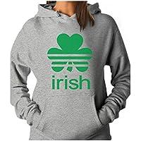 Tstars - St. Patrick's Day Shamrock Clover - Irish Women Hoodie