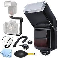 自動回転/バウンドシューマウントすべてのCanonデジタルSLRカメラのフラッシュ