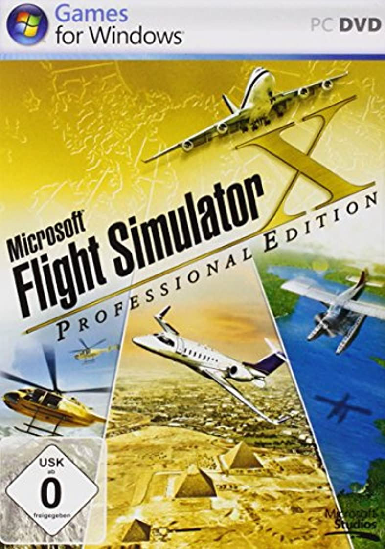 雇ったありふれたウェーハMicrosoft Flight Simulator X Professional Edition (ドイツ版)