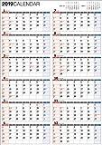 2019年 書き込み式1年カレンダー A2 【K12】 ([カレンダー])