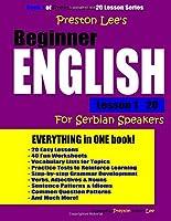 Preston Lee's Beginner English Lesson 1 - 20 For Serbian Speakers