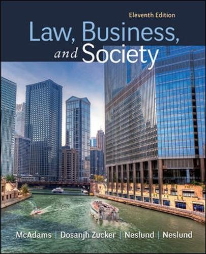 Download Law, Business and Society 0078023866