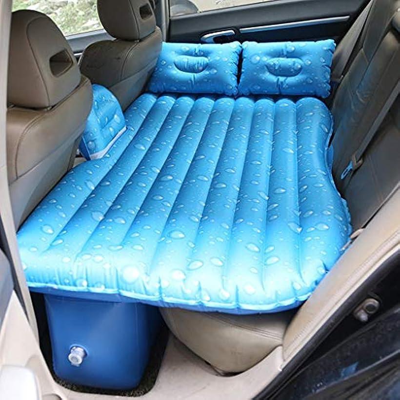 ピアノを弾く動揺させる小売子供のための旅行膨脹可能なベッドの後部座席、拡張マットレスSUVの車のクッションの群がったキャンプのAirbed、135×88×34cm (色 : C)