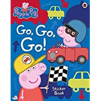 Peppa Pig: Go, Go, Go!: Vehicles Sticker Book
