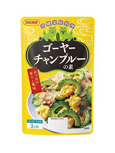 日本食研 ゴーヤーチャンプルーの素 100g×6個