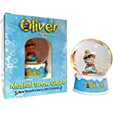 Snow Globe Musical Gift Boxed - Oliver the Ornament Snow Globe with Music That Plays
