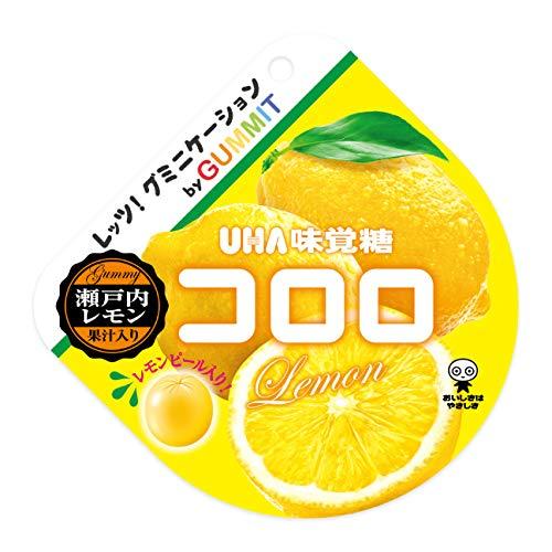 UHA味覚糖 コロロ 瀬戸内 レモン 52g ×1袋