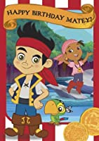 Jake And The NeverLand Pirates General Birthday Card by Portico