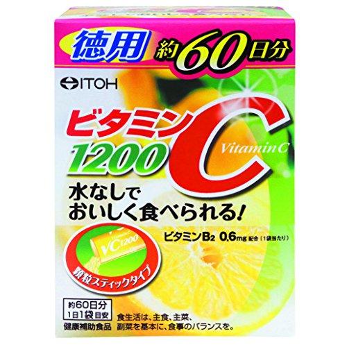 井藤漢方製薬 ビタミンC 1200 (60袋)...