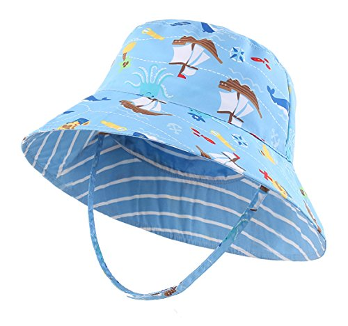 (コネクタイル) Connectyle キッズ UPF 50+ サファリハット つば広 UVカット バケットハット 子供 男の子 女の子 夏 日よけ帽子 速乾性よい ベビー用ハット