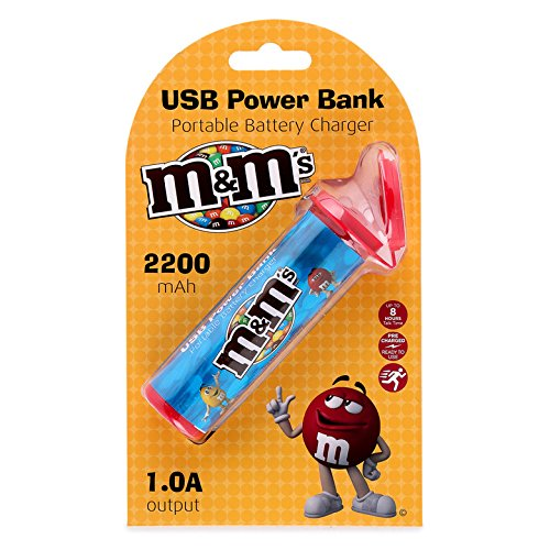 m&m's エムアンドエムズ USB ポータブル 充電器 モ...