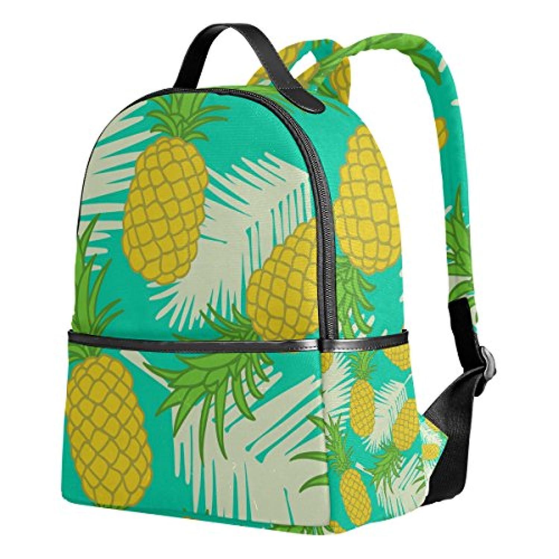 マキク(MAKIKU) リュック レディース おしゃれ 軽量 大容量 通学 通勤 旅行 プレゼント対応 パイナップル 熱帯風