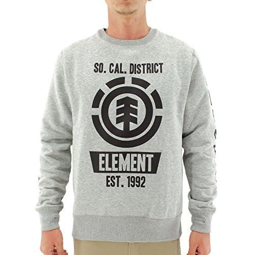(エレメント) ELEMENT AE022-004 メンズトレーナー GRH M