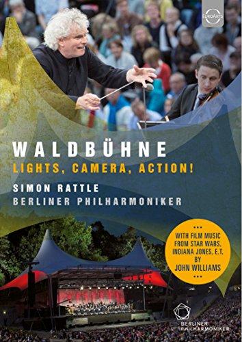 ヴァルトビューネ 2015 ~ ライト、カメラ、アクション! (Waldbuhne ~ Lights, Camera, Action! / Simon Rattle | Berliner Philharmoniker) [DVD] [輸入盤] [日本語帯・解説付]