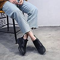 日常 シューズ 軽量 女性 運動 靴 3色 6サイズ 選択可能  (37, ブラック)