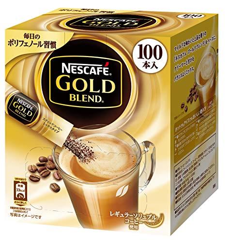 ネスレ日本『ネスカフェ ゴールドブレンド スティックコーヒー 100P』