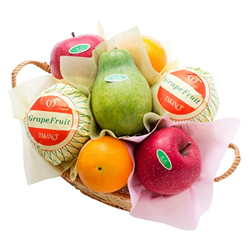 新宿高野 フルーツバラエティーEB #29100 [グレープフルーツ/オレンジ/りんご/パパイヤ] 内祝い ご挨拶 手土産 ギフト 果物 つめあわせ