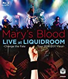 LIVE at LIQUIDROOM~Change the Fa...[Blu-ray/ブルーレイ]